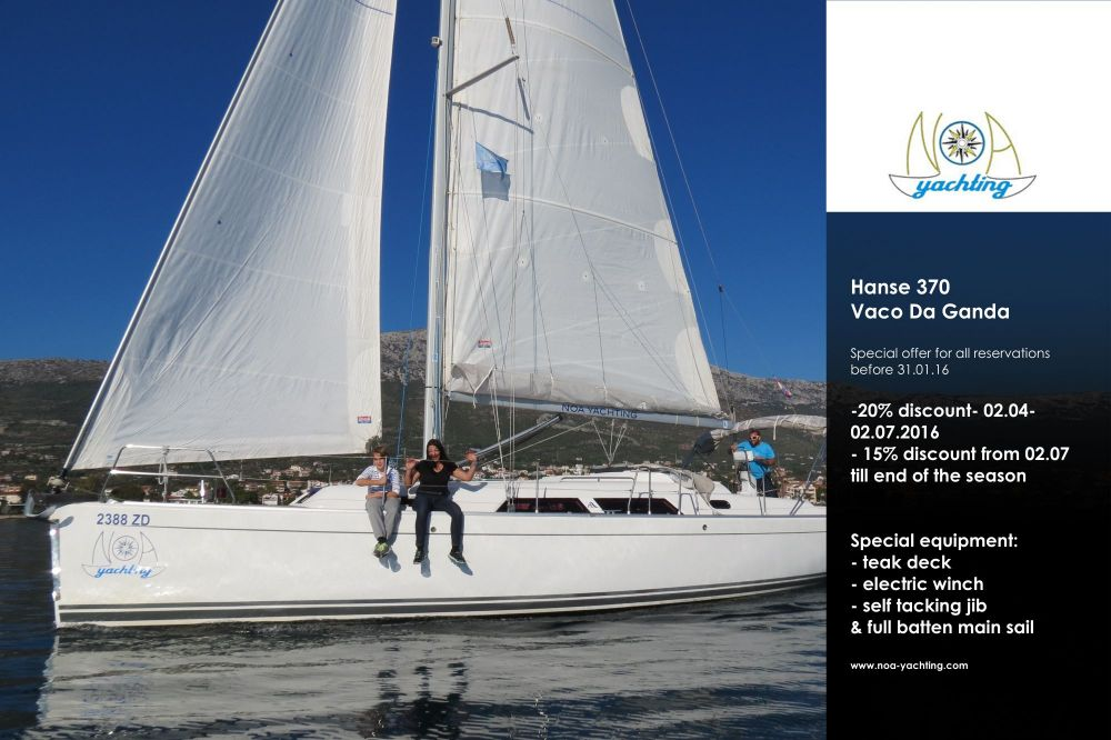 Hanse 370 – Special promotion