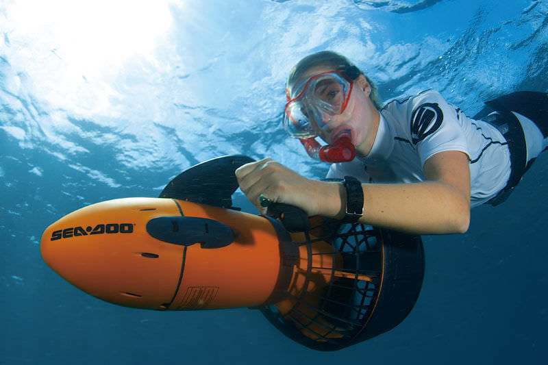 New in our base Kaštela- SeaDoo underwater sea scooter and Water Toys + SUP